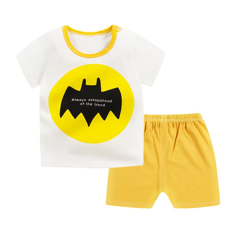 595491ea1b77 Mareya Trade - 2018 New Summer Cartoon Baby Boys Clothing Outfits ...