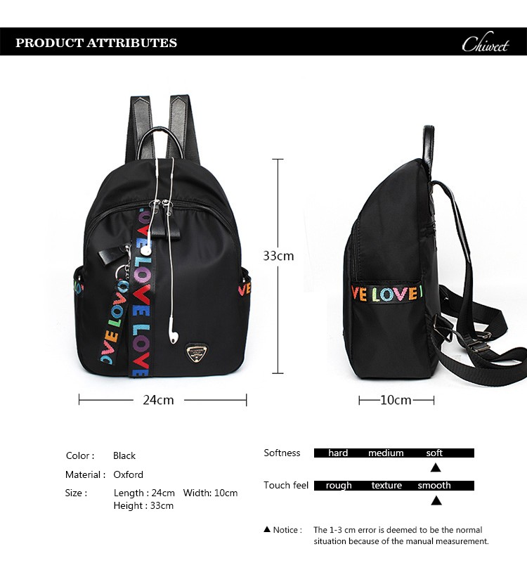 Women Waterproof Casual Backpack Middle School Designer Bookbag Teenager  Love Print Stripe Backpacks Female Bolsa Travel Bags. Text. Text. Text 9ba9ceec59
