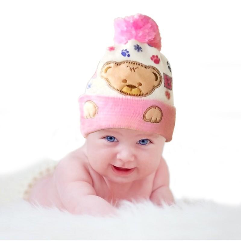 8655ce170aae Mareya Trade - Baby Hat Kids Winter Hats Newborn Cap Hot Super Soft ...