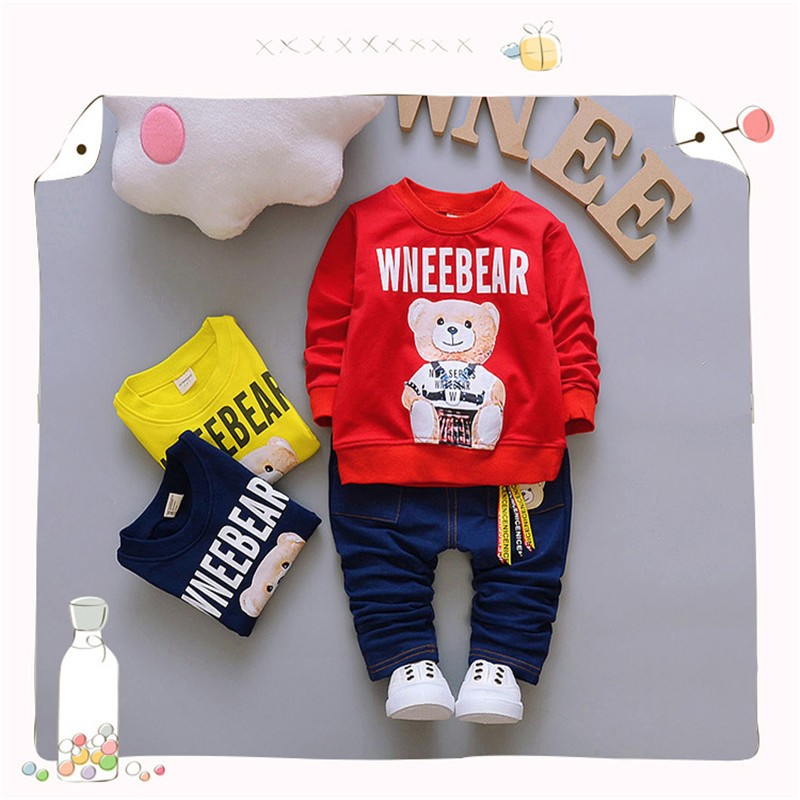 355ac0e730ba Mareya Trade - BibiCola Baby Boy Clothing set Bebe Sport Suit Boy ...
