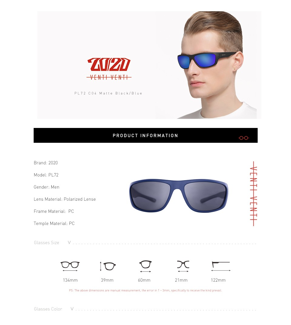 d80dc91eb78 20 20 Polarized Sunglasses Men Brand Designer Blue Lens Sun Glasses Men  Classic Driving Fishing Eyewear With Box Oculos PL72. Text. Text. Text