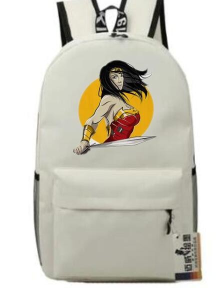 Mareya Trade Wonder Woman Backpack Fashion Harajuku Brand