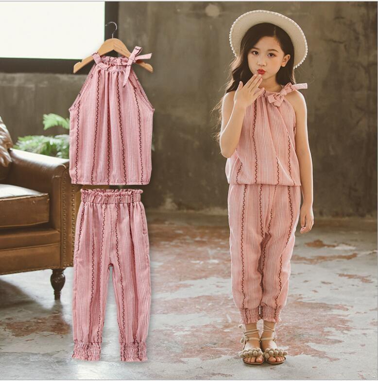 Mareya Trade Girl Clothing Set 2018 Casual Children Clothing Set