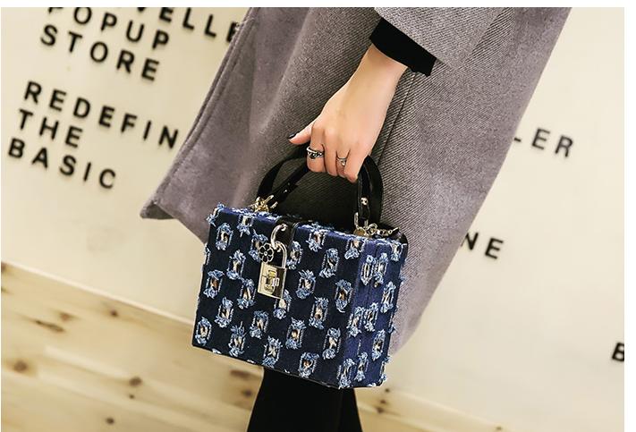 414a4257e0838 ماريا تريد - حقيبة يد مربعة الشكل صغيرة ماركة عالية مختلفة الالوان