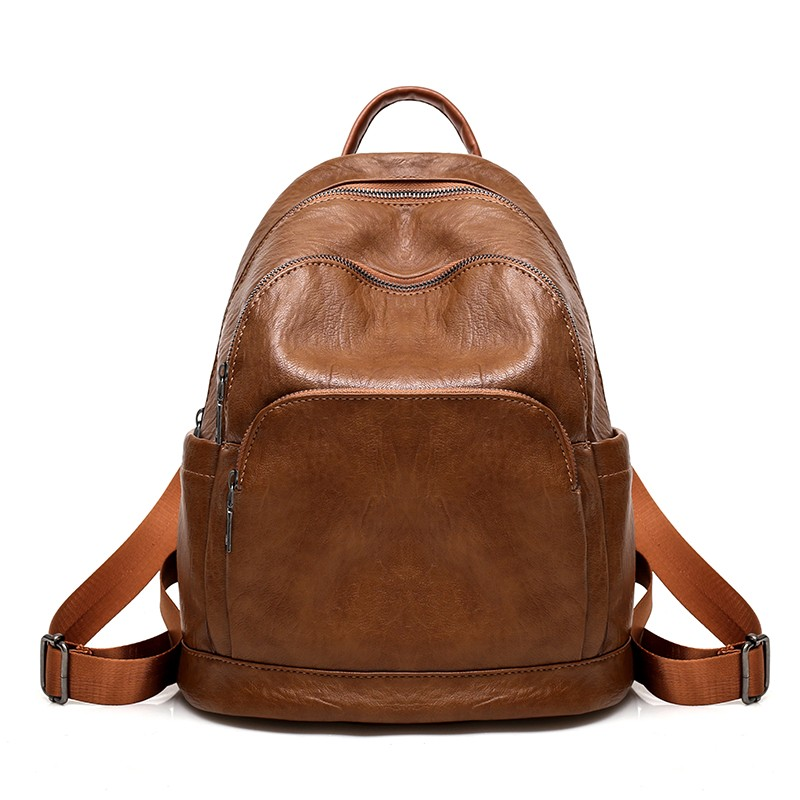 c02fd8ab0ef1 LEFTSIDE Women Backpack 2018 High Quality PU Leather School Bags For Teenagers  Girls Top-handle Female Backpacks Black Brown