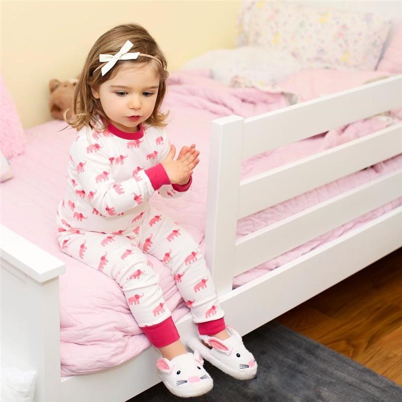 89f6493e9 Mareya Trade - Newborn Baby Girls Sleepwear Elephant Romper long ...