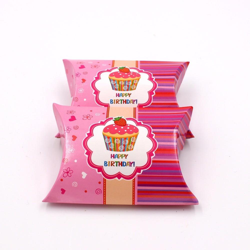 Mareya Trade 100pcs Paper Gift Box Candy Boxes Baby Shower Kids