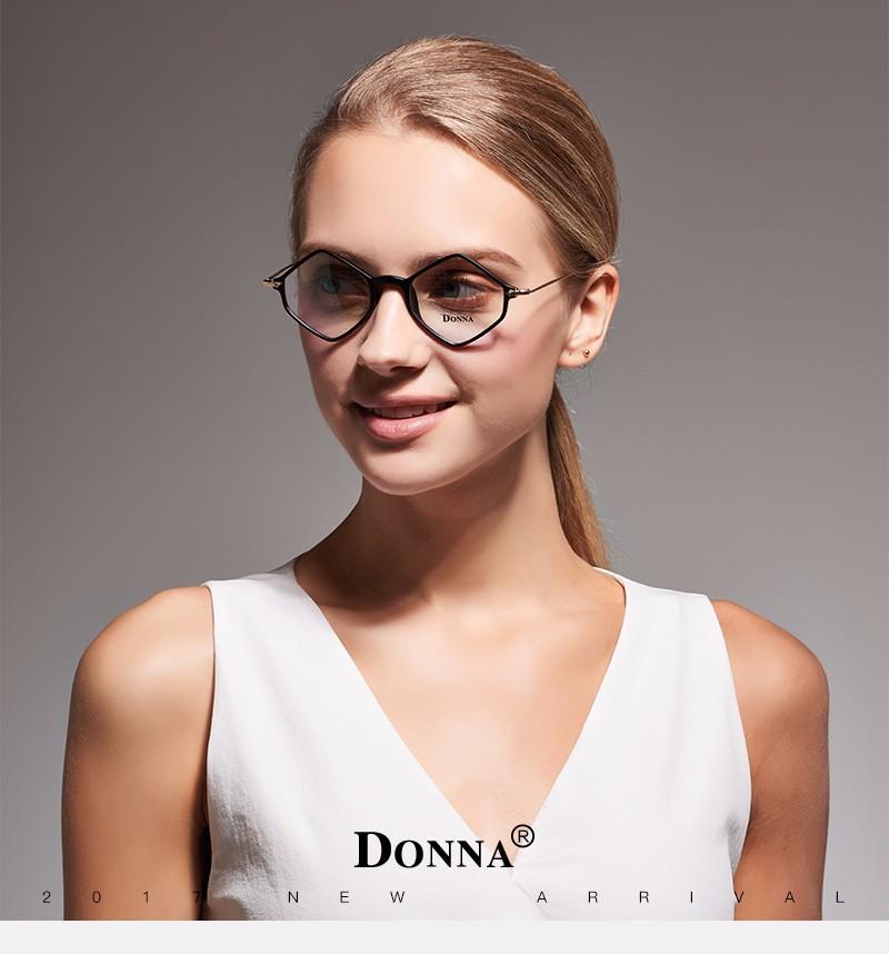 935fc642a10 Donna New Prescription Eyewear Frames Union Rhombus Eyeglasses For Men Womens  Eyeglass Frame Ultra Light Frame Clear DN15