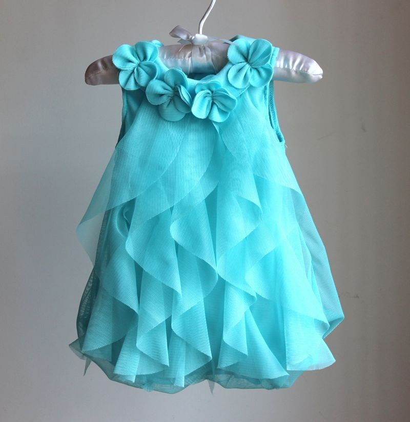 Mareya Trade - Baby Girls Dress Girls Birthday Party Dresses ...
