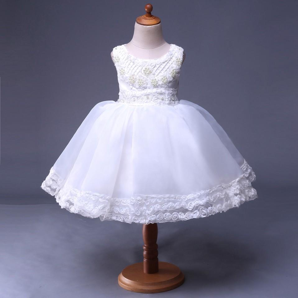 Mareya Trade Cutestyles Flower Girl Dresses Sale Simple White