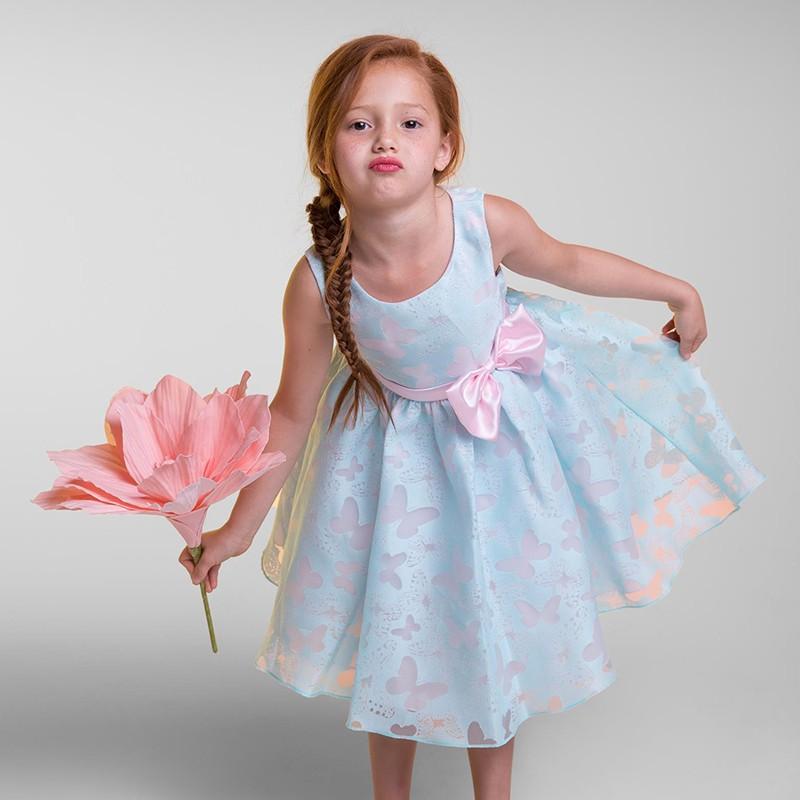 f29890c5bca4 Mareya Trade - Flower Kids Dresses For Girls Beautiful Lace Flower ...