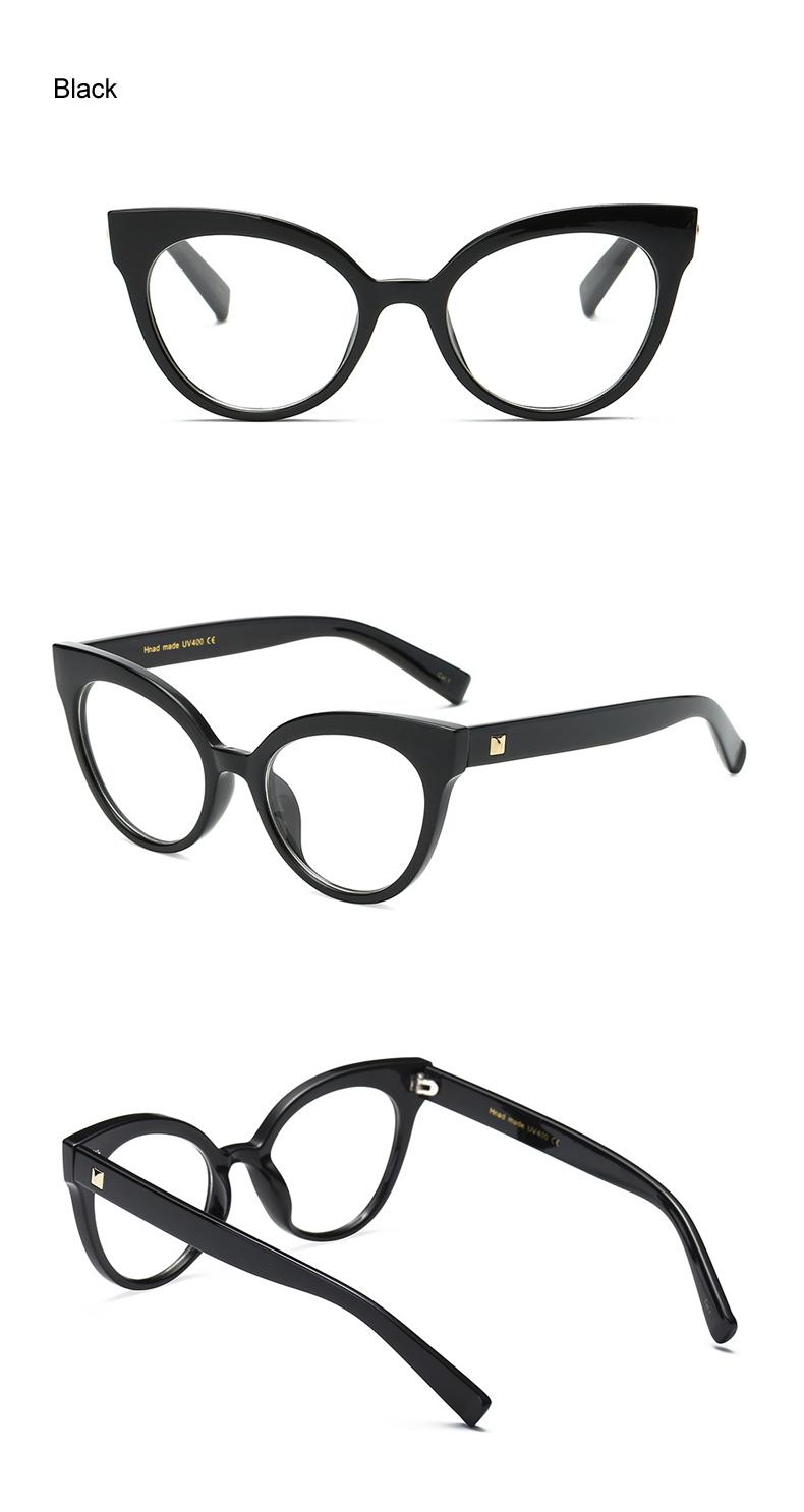 69bb8a18f71 ... Frame Women Cat Eye Eyeglass Transparent Clear Prescription Glasses  Frames Optical Retro Spectacles F92111. Text. Text. Text. Text. Text. Text.  Text