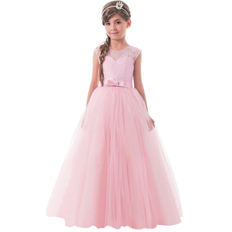 Mareya Trade - Summer Girls Dress Teenagers Lace Up Party Clothing ...