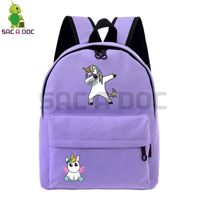 0afab9b047be Mareya Trade - Cute Dab Unicorn School Bags for Teenage Girls ...