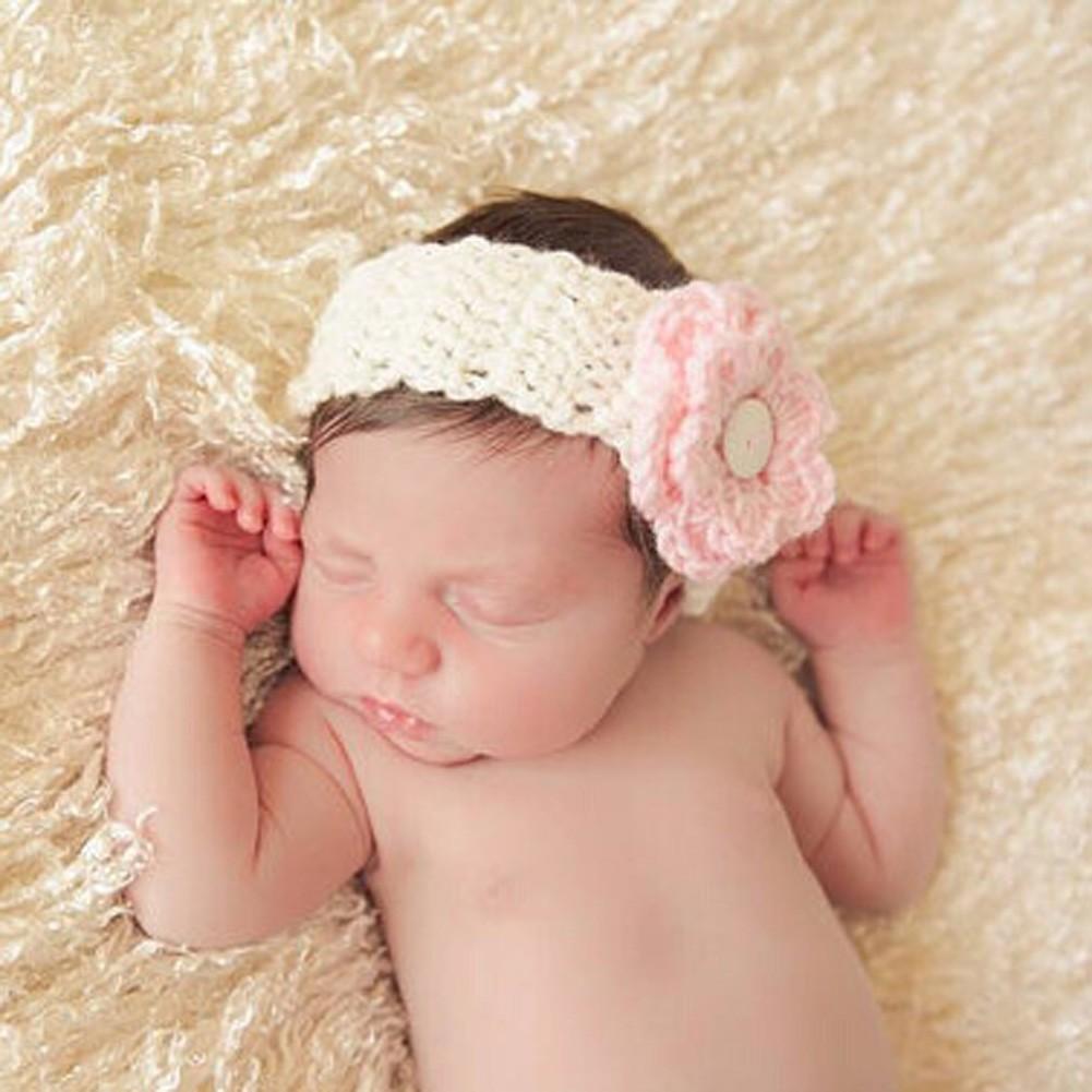 64e180476a8f Mareya Trade - 1 pcs Kids Baby Wool Headband Infants Baby Girls ...