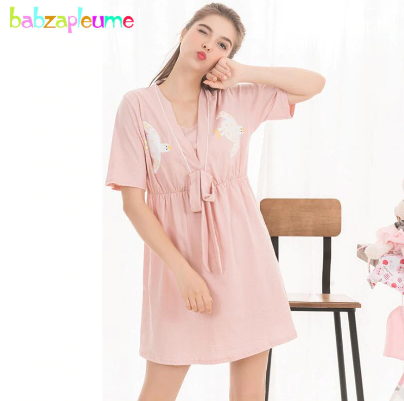 Mareya Trade - Summer Maternity Nursing Dresses Pajamas ...