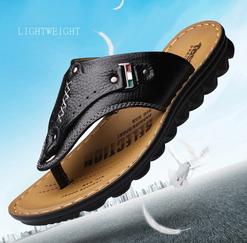 2920bbd278c0 Men s sandal - flexible and soft insole - simple design and light movement