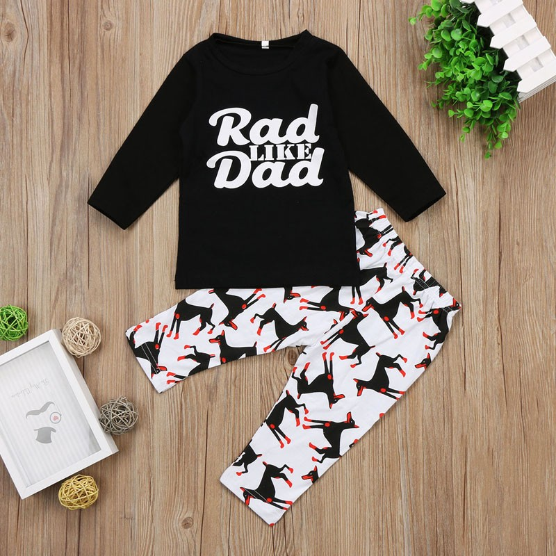 f477df028b04 Mareya Trade - Newborn Baby Boy Girl T-shirt Pant Clothes Winter ...