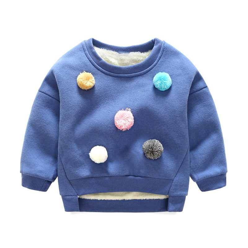 93d2bfaaf7ed Mareya Trade - Winter Children Fleece Sweaters Kids Girls Boys Long ...