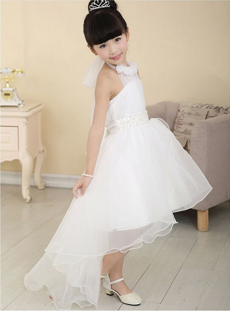 ... Party Dress Evening Wear Long Tail Girls Clothes Elegant Flower Girl  Dress Kids Baby Christmas Dresses. Text. Text ba63208e5a47