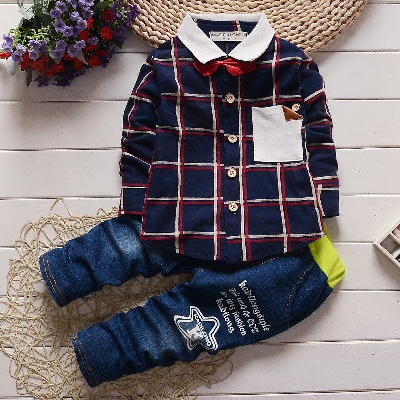 06fc93b8776e Mareya Trade - BibiCola Spring Autumn Fashion Baby Boys Clothing ...