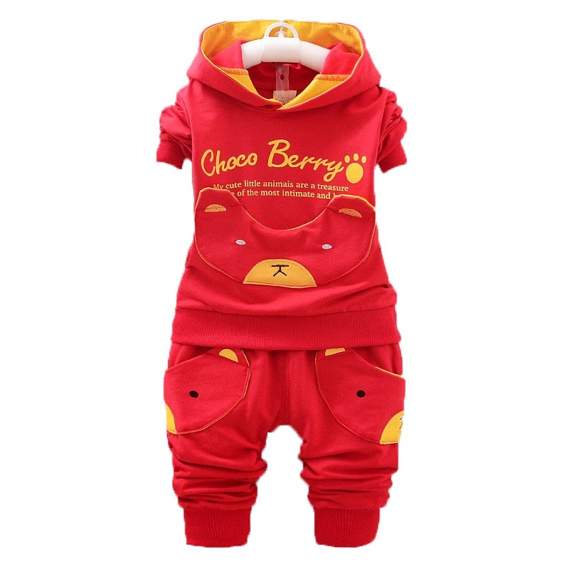 ad68d71863ab Mareya Trade - Bibicola kids baby boys girls sets Children Hoodie+ ...