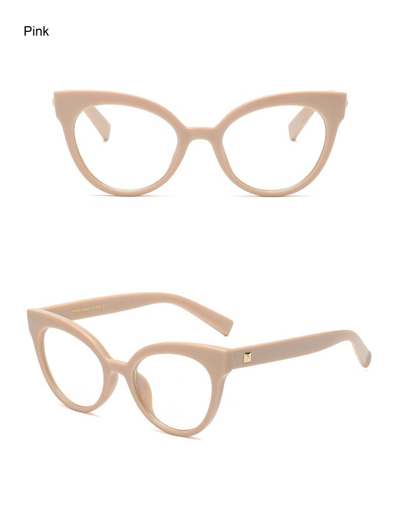 f28094df469 Ralferty Eyewear Frame Women Cat Eye Eyeglass Transparent Clear  Prescription Glasses Frames Optical Retro Spectacles F92111