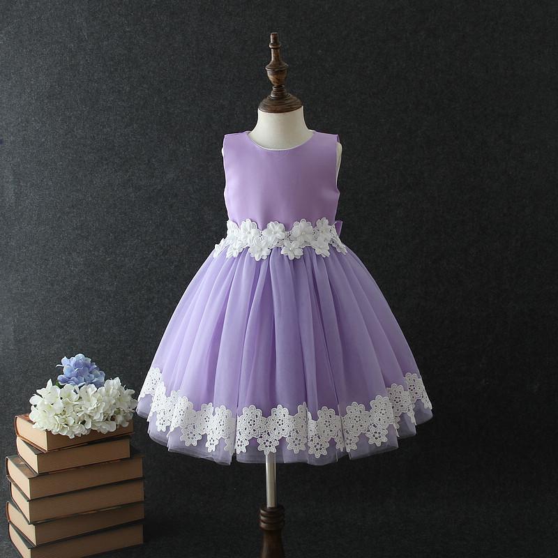 Mareya Trade - Kids Wedding Dress 2018 New Girls Lacce Flowers ...