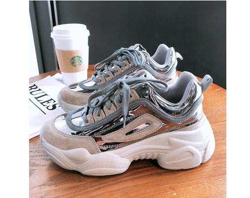 633f11e64 حذاء رياضى فلات باربطة من الامام - تصميم ملون بشكل جديد..متوفر 4 الوان